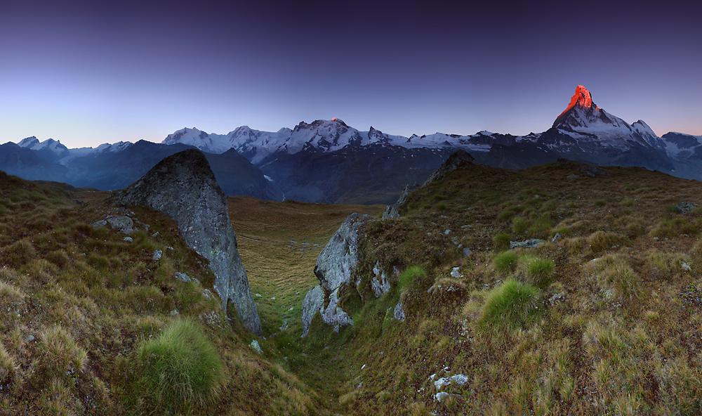 Matterhorn, alpy szwajcarskie, szwajcaria, alps, matterhorn climbing