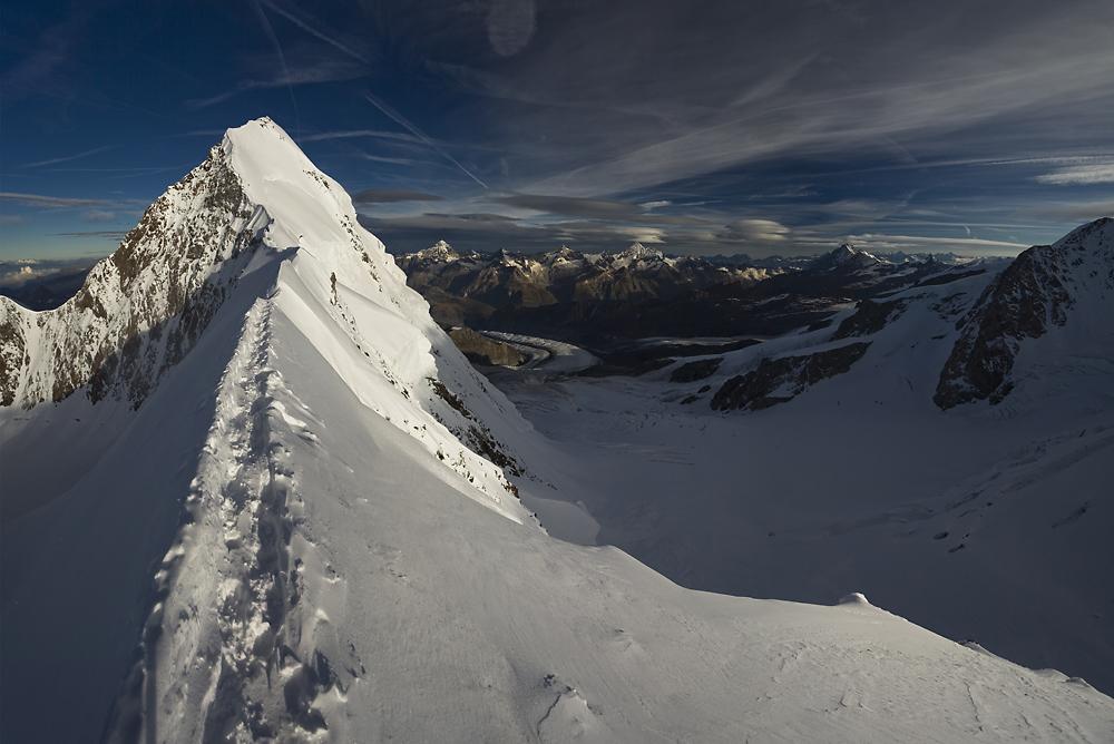 lyskamm alpy szwajcaria