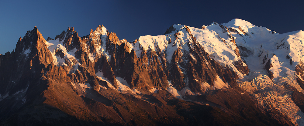 Masyw Mont Blanc francja