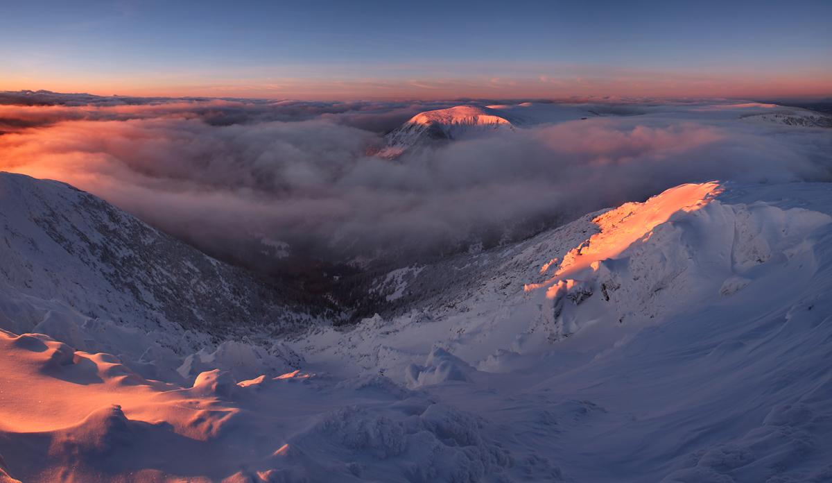 Panorama ze Śnieżki