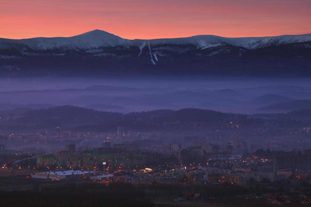 Panorama Karkonoszy