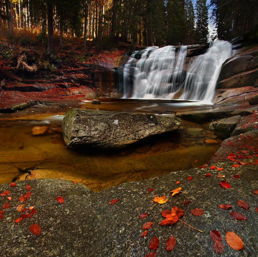 Wodospad Mumlavy