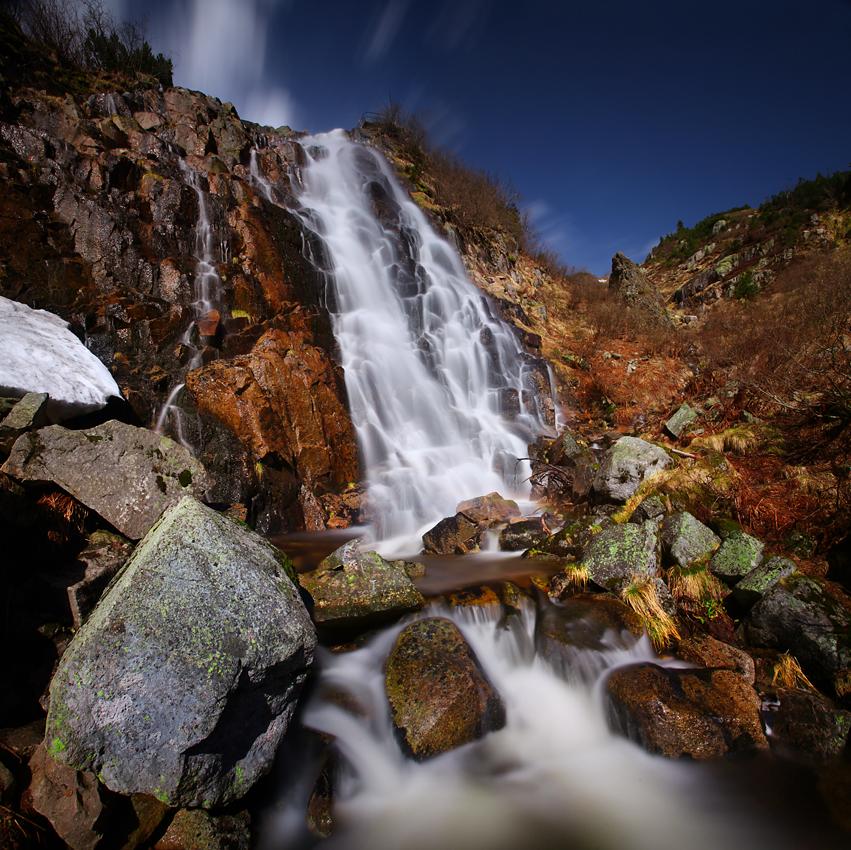 Wodospad Labský vodopád