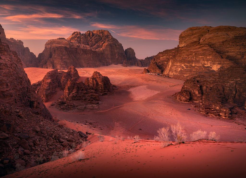 Wadi Rum Jordania Red Sand Dune