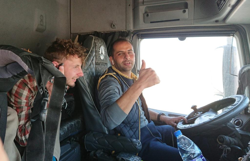 Wadi Rum Autostop Jordania
