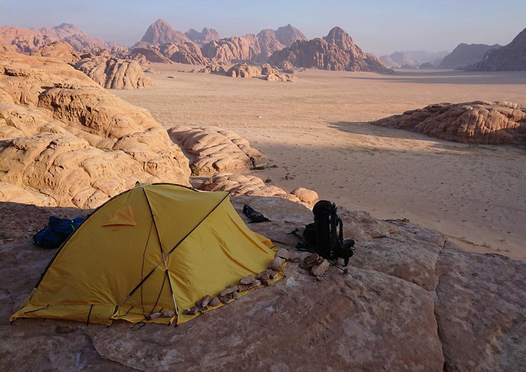 Wadi Rum Jordania Marabut Arco Biwak