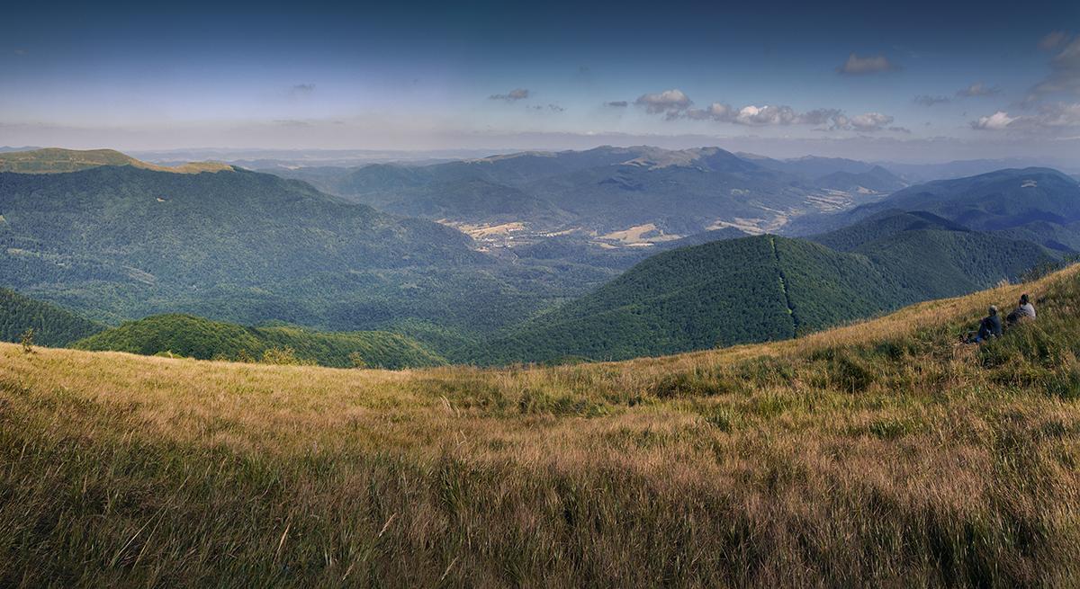 Panorama z Wielkiej Rawki