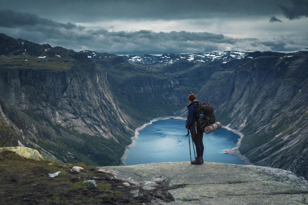 widok krajobraz