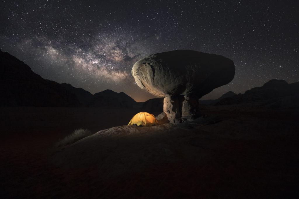 Wadi Rum pustynia Jordania desert jordan mushroom rock