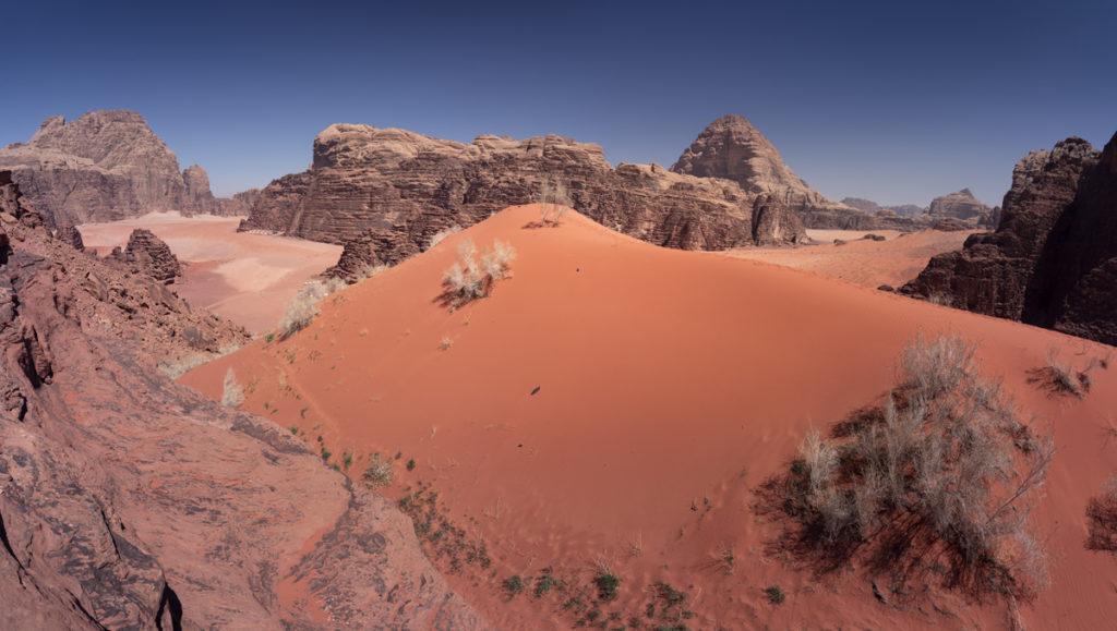 Wadi Rum pustynia Jordania desert jordan